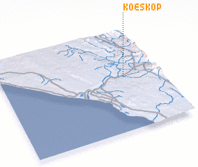 3d view of Koeskop