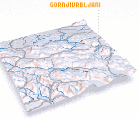 3d view of Gornji Vrbljani