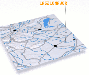 3d view of Lászlómajor