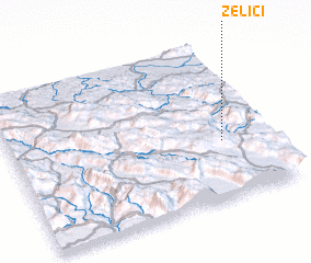 3d view of Zelići