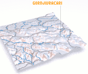 3d view of Gornji Vračari