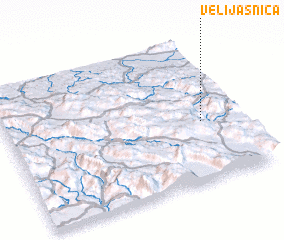 3d view of Velijašnica