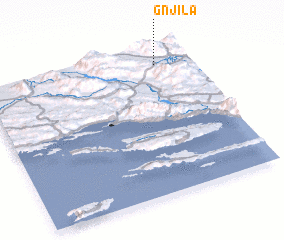 3d view of Gnjila