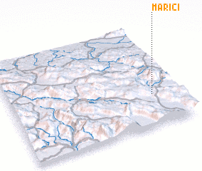 3d view of Marići
