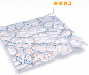 3d view of Ðakovići