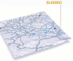 3d view of Klekovci