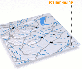 3d view of Istvánmajor