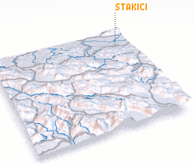 3d view of Stakići