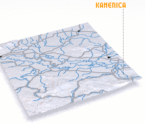 3d view of Kamenica