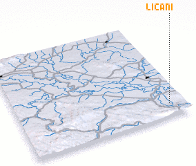 3d view of Ličani