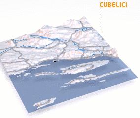 3d view of Čubelići