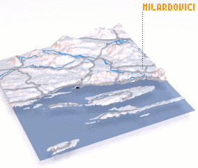 3d view of Milardovići