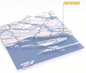 3d view of Jasenak