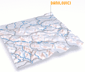 3d view of Danilovići