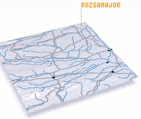 3d view of Rózsamajor