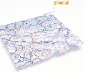 3d view of Zimonje