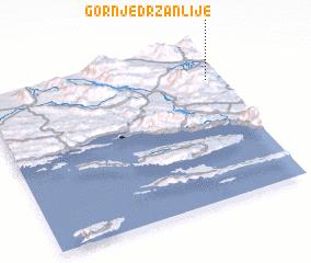 3d view of Gornje Držanlije