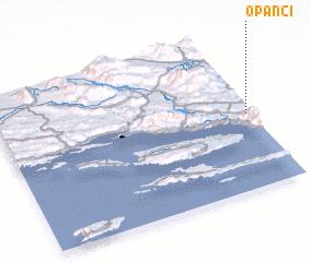 3d view of Opanci