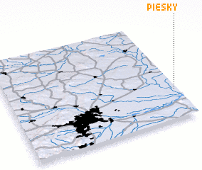 3d view of Piesky