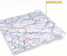3d view of Arnaućani