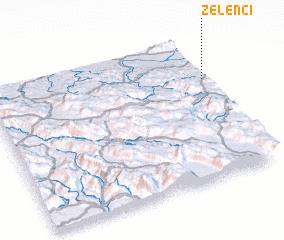 3d view of Zelenci
