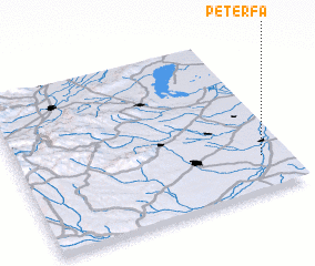 3d view of Péterfa