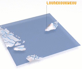 3d view of Lounékoukwéou