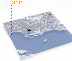 3d view of Otaitai