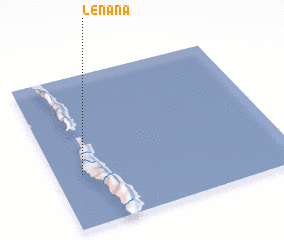 3d view of Lénana