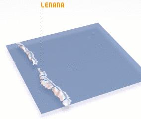 3d view of Lénana