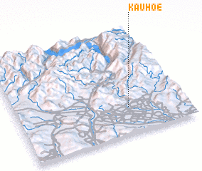 3d view of Kauhoe