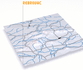 3d view of Rebrovac