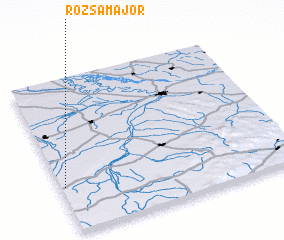 3d view of Rózsamajor
