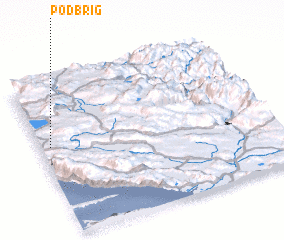 3d view of Podbrig