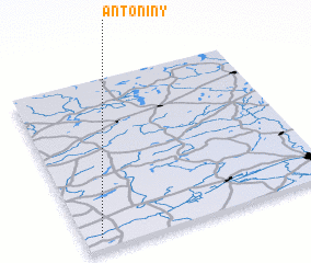 3d view of Antoniny