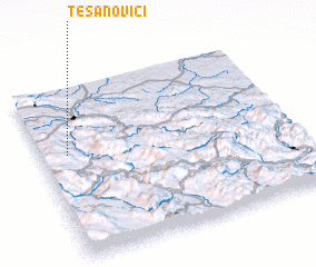 3d view of Tešanovići