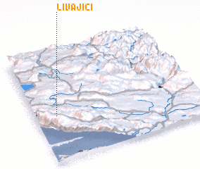 3d view of Livajići
