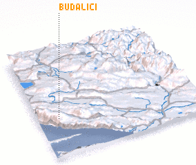 3d view of Budalići