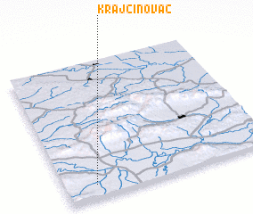 3d view of Krajčinovac