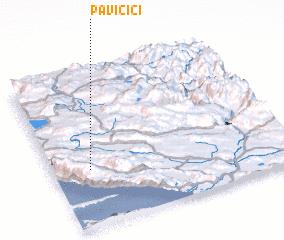 3d view of Pavičići