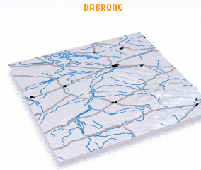 3d view of Dabronc