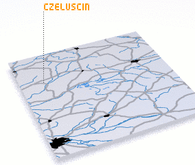 3d view of Czeluścin