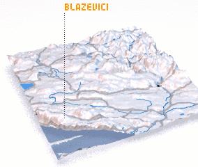 3d view of Blaževići