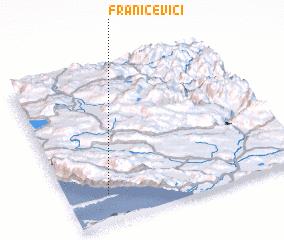 3d view of Franičevići