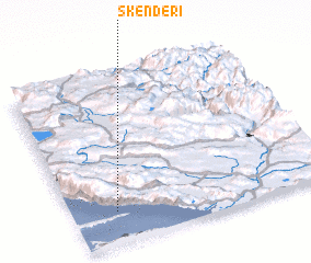3d view of Skenderi