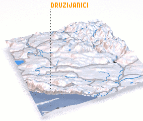 3d view of Družijanići