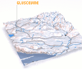 3d view of Gluščevine