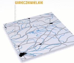 3d view of Góreczki Wielkie