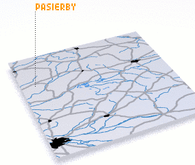 3d view of Pasierby