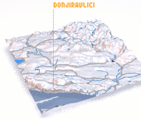 3d view of Donji Ravlići